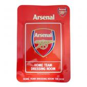 Arsenal F.C. Dressing Room Tin Sign