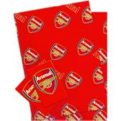 Arsenal F.C. Crested Gift Wrap