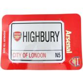 Arsenal F.C. Road Tin Sign