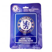 Chelsea F.C. Dressing Room Tin Sign