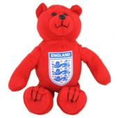 England F.A. Beanie Bear Red