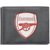 Arsenal F.C. Leather Wallet Embroidered Crest