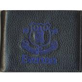 Everton F.C. Leather Wallet  Embroidered Crest