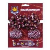 West Ham United F.C. Christmas Trimmings Set