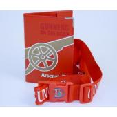 Arsenal F.C. Passport & Luggage Strap