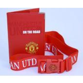 Manchester United F.C. Passport & Luggage Strap