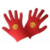 Manchester United F.C Knitted Gloves SM