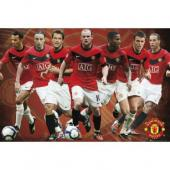 Manchester United F.C. Stars Poster