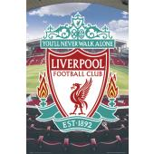 Liverpool F.C. Club Crest Poster