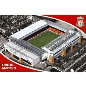 Liverpool F.C. Anfield Poster