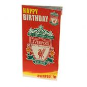 Liverpool F.C. Crested Birthday Card