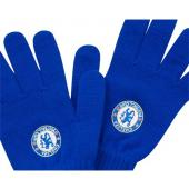 Chelsea F.C Knitted Gloves