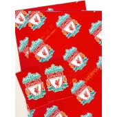 Liverpool F.C. Crested Gift Wrap