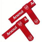 Arsenal F.C. Official Crested Sock Ties Red