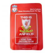 Liverpool F.C. Dressing Room Tin Sign