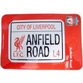 Liverpool F.C. Road Tin Sign