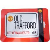 Manchester United F.C. Road Tin Sign