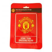 Manchester United F.C. Dressing Room Tin Sign